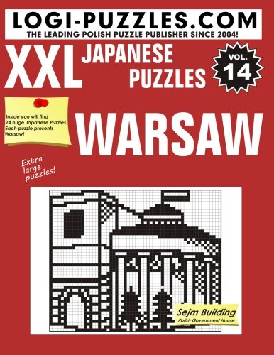 9781516954667: XXL Japanese Puzzles: Warsaw