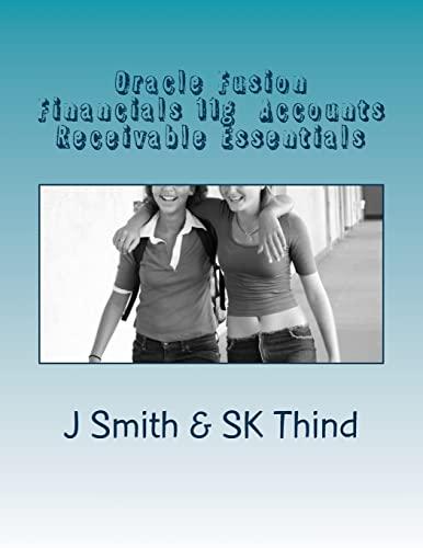 9781516962839: Oracle Fusion Financials 11g Accounts Receivable Essentials