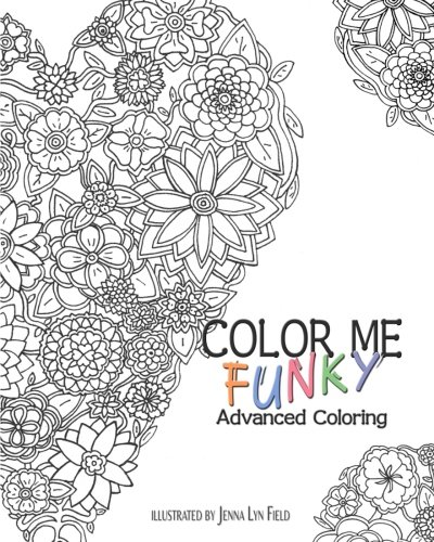 9781516969593: Color Me Funky: Advanced Coloring