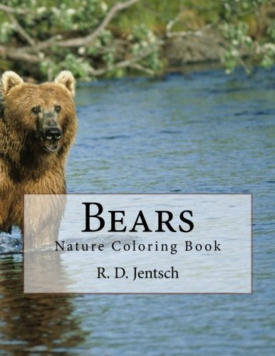 9781516977468: Bears: The Coloring Book