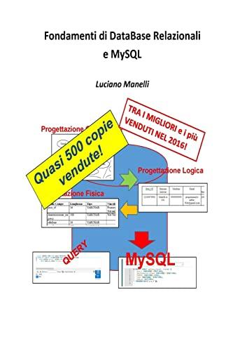 9781516996216: Fondamenti di DataBase Relazionali e MySQL (Italian Edition)