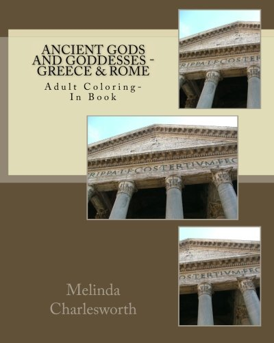 9781517009076: Ancient Gods and Goddesses - Greece & Rome: Adult Coloring Book