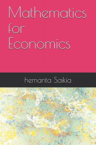 9781517010737: Mathematics for Economics