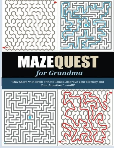 9781517012380: MazeQuest For Grandma