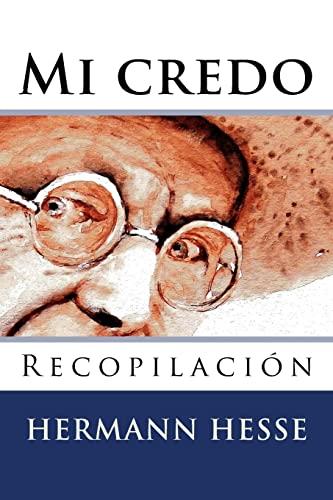 9781517018849: Mi credo (Spanish Edition)