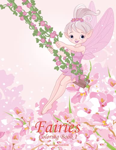 9781517020552: Fairies Coloring Book 1
