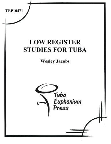 9781517021177: Low Register Studies for Tuba