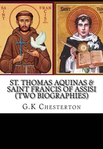 9781517029159: St. Thomas Aquinas & Saint Francis of Assisi (Two Biographies)