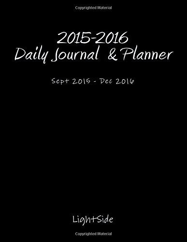 9781517030056: 2015-2016 Daily Journal & Planner