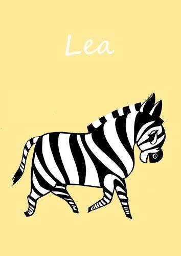 Din A4 Malbuchnotizbuchtagebuch Blanko Mit Kleinem Zebra