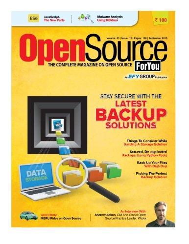9781517049577: Open Source For You, September 2015: September 2015 (Volume 3)