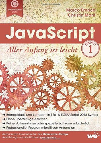 9781517054113: JavaScript: Aller Anfang ist leicht: Volume 1