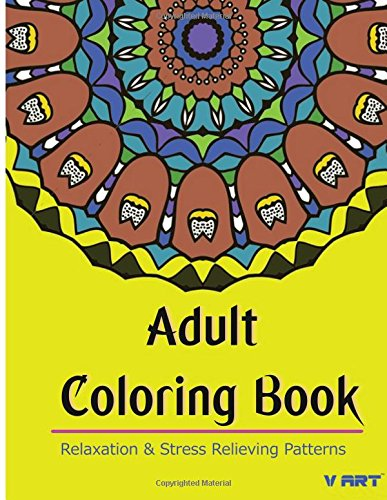 9781517055059: Adult Coloring Book: Coloring Books for Adults Relaxation : Relaxation & Stress Relieving Patterns
