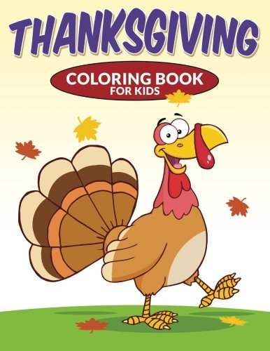 9781517055110: Thanksgiving Coloring Book for Kids (Volume 1)