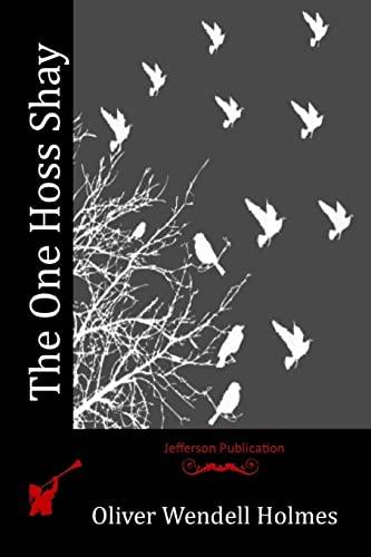 9781517072018: The One Hoss Shay