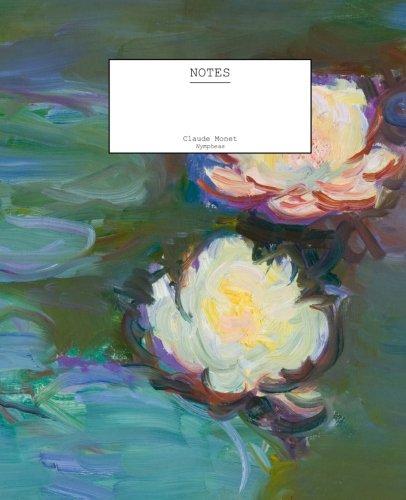 9781517077358: Claude Monet Nympheas Notebook (7.5