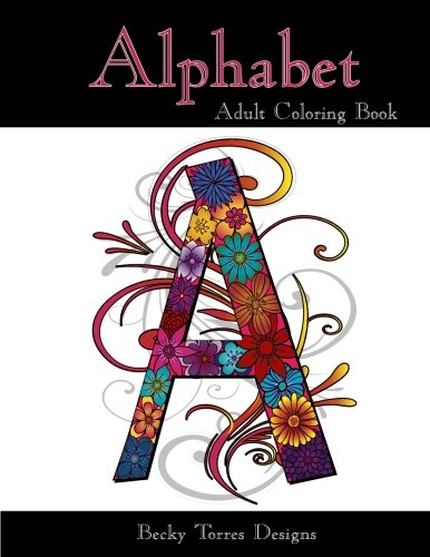 9781517077853: Alphabet: Adult Coloring Book