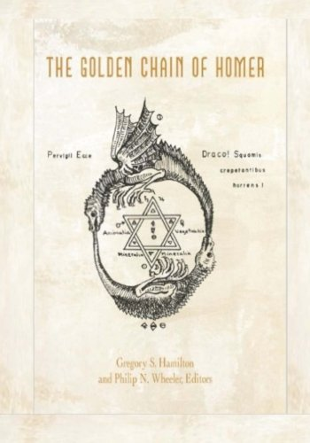 9781517078416: Golden Chain of Homer: Of the Generation of things, Part I (Books on Alchemy)