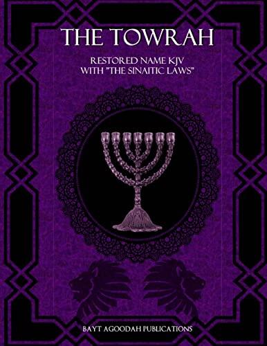 9781517079949: The Towrah: Restored Name KJV with