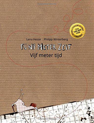 9781517086848: Fünf Meter Zeit/Vijf meter tijd: Kinderbuch Deutsch-Niederländisch (bilingual/zweisprachig)