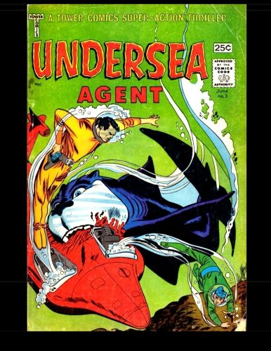 9781517094515: Undersea Agent #3: 1966 Superhero Comic