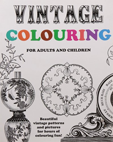 9781517105488: Vintage Colouring for Adults and Children