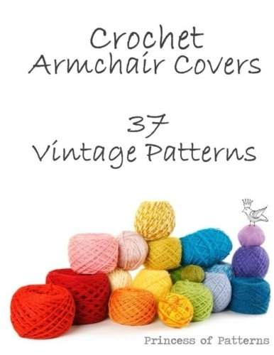 9781517110062: Crochet Armchair Covers: 37 Vintage Patterns