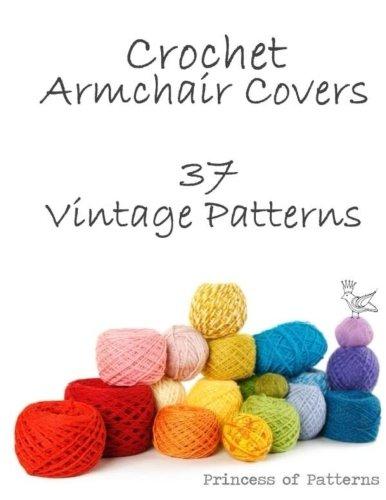 9781517110062: Crochet Armchair Covers: 37 Vintage Patterns