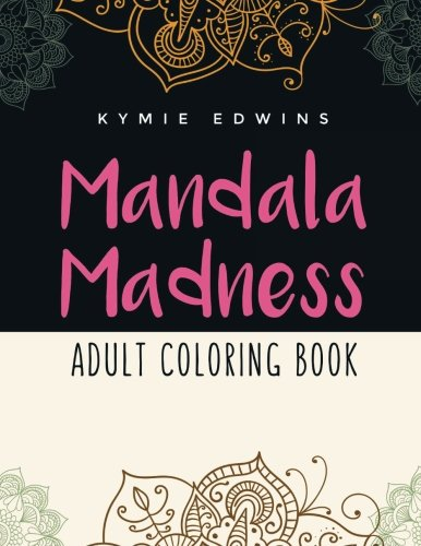 9781517134907: Mandala Madness: Adult Coloring Book