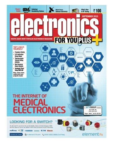9781517137014: Electronics For You, September 2015: September 2015
