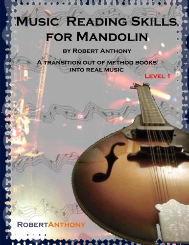 9781517138622: Music Reading Skills for Mandolin Level 1