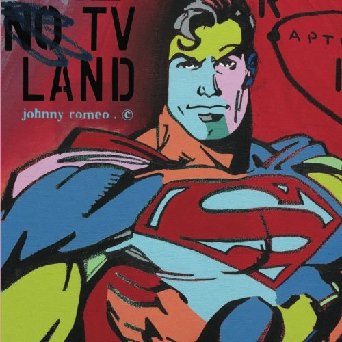 9781517151362: TV LAND: a visual compilation of artwork by Johnny Romeo