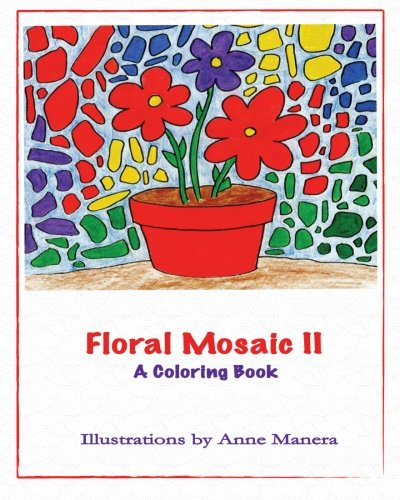 9781517156664: Floral Mosaic II: A Coloring Book (Volume 2)