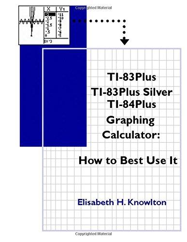 9781517168032: TI83Plus TI83Plus Silver TI84Plus Graphing Calculator: How To Best Use It!