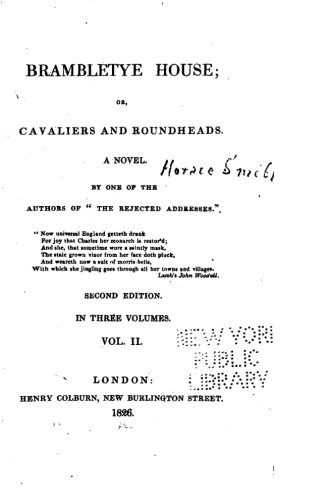 9781517168728: Brambletye House, Or, Cavaliers and Roundheads, A Novel - Vol. II