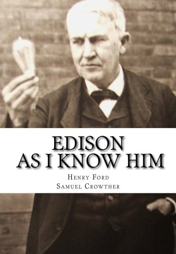 9781517168797: Edison As I Know Him