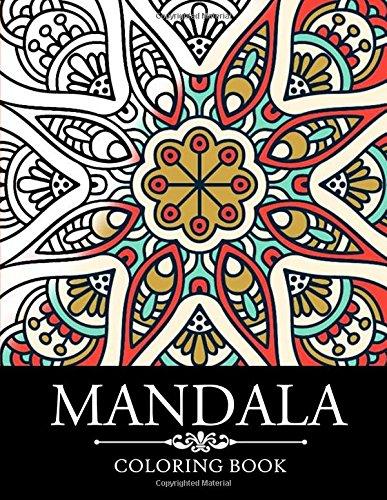9781517174477: Mandala Coloring Book: Stress Relieving Patterns : Coloring Books For Adults, coloring books for adults relaxation, Meditation Coloring Book for adult