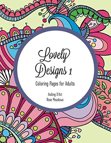 9781517191023: Lovely Designs 1: Coloring Pages for Adults