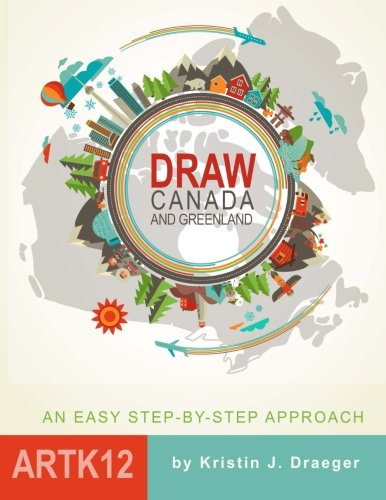 9781517193317: Draw Canada and Greenland