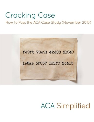 icaew aca case study november 2015