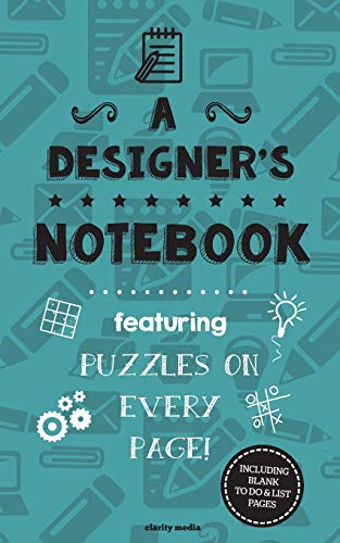 9781517206376: A Designer's Notebook: Featuring 100 puzzles