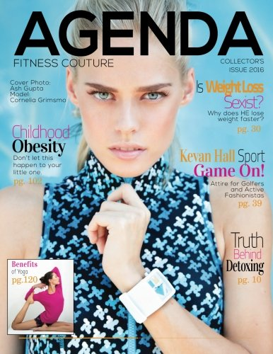 9781517214197: Agenda (Agendamag.com): Fitness Couture 2016