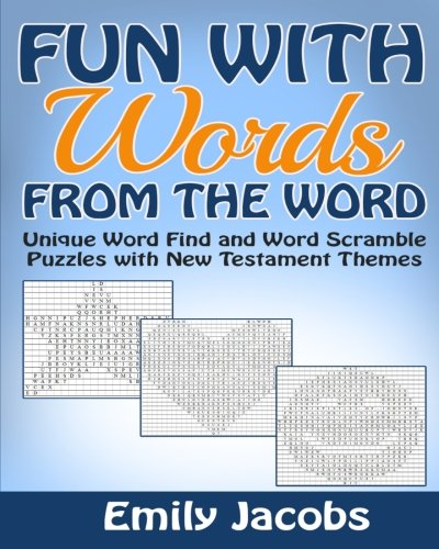 9781517216627: Fun with Words - from The Word: Word Find and Word Scramble Puzzles with New Testament Themes