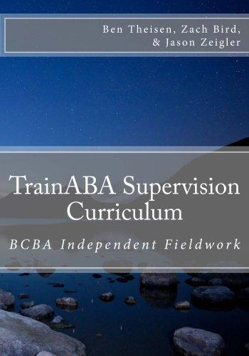 9781517220563: TrainABA Supervision Curriculum- BCBA Independent Fieldwork