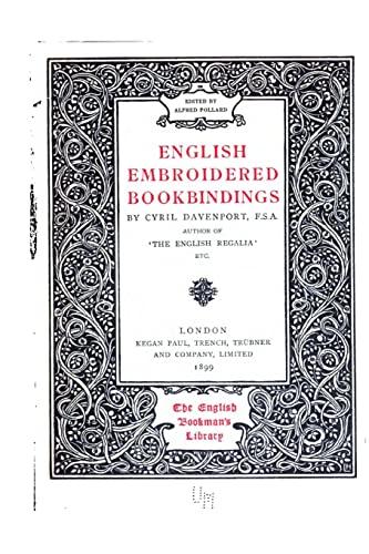9781517225308: English Embroidered Bookbindings