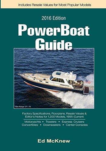 9781517238049: 2016 PowerBoat Guide