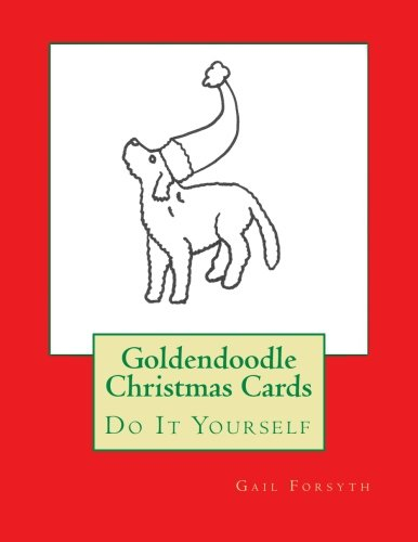9781517275167: Goldendoodle Christmas Cards: Do It Yourself