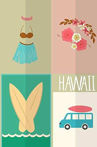 9781517316297: Hawaii Travel Journal: Wanderlust