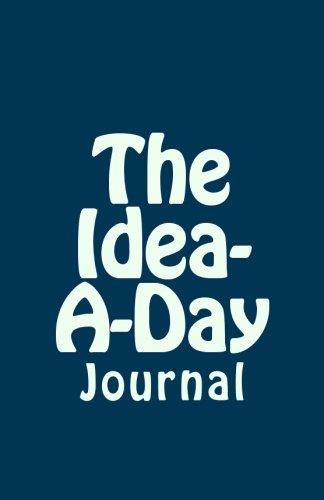 9781517323462: Idea-A-Day Journal