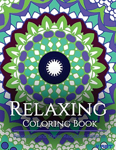 9781517336240: Relaxing Coloring Book: Coloring Books for Adults Relaxation : Relaxation & Stress Reduction Patterns (Volume 45)
